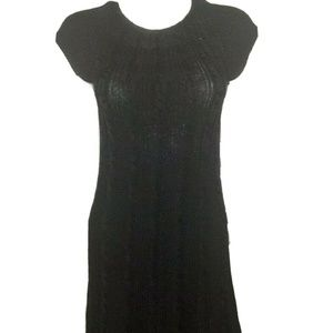 Calvin Klein Sweater Dress Cable Knit A-line